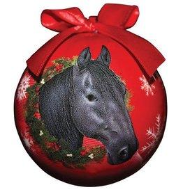 GT Reid Ball Ornament- Red