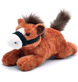 "GT Reid Plush Resting Horse - 8"""
