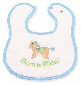 GT Reid Infant Bib - Blue
