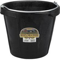 Little Giant Rubber Bucket With Pouring Lip - 18qt