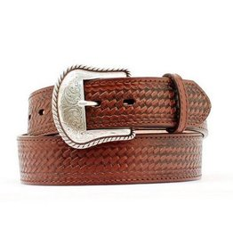 M & F Western Products Adult - Nocona Basketweave Belt