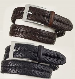 "English Riding Supply Adult - Ovation Black Braided Show Belt 28"" Small"