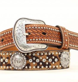 M & F Western Products Children's Praying Cowboy Brown Belt