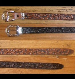 Rockmount Ranch Wear Adult - Tooled Leather Belt