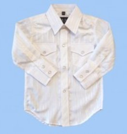 White Horse Apparel Children's White Horse Tone Western Shirt