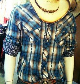Men's Adiktd Teal Shirt - Medium (Reg $76.00 NOW 40% OFF)