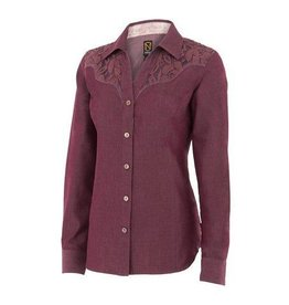 Noble Outfitters Women's Noble Outfitters Bluegrass Lace Western Shirt