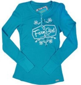 Farm Girl Farm Girl Long Sleeve Thermal Shirt