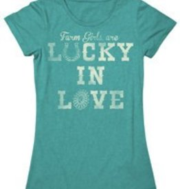 Farm Girl Farm Girl Lucky In Love T-Shirt