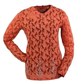Outback Trading Company LTD Outback Lilly Studded Long Sleeve T-Shirt