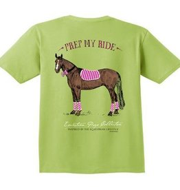 Stirrups Clothing Stirrups Prep My Ride T-Shirt Kiwi XL