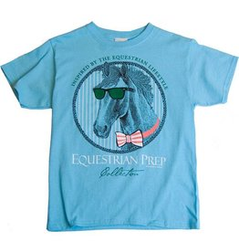 Stirrups Clothing Stirrups Preppy Clothes Horse T-Shirt Blue XL