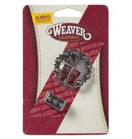 "Weaver 3/4"" Berry Concho Buckle & Loop Set"