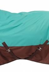 Tough-1 Tough 1 600D Turnout Blanket Teal/Brown 51