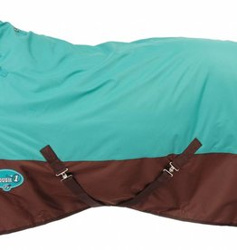 Tough-1 Tough 1 600D Turnout Blanket Teal/Brown 51