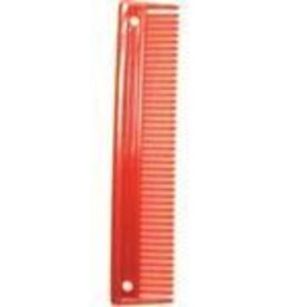 "Partrade 9"" Plastic Comb Red"