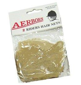 Intrepid International Aerborn Hair Net Blonde Heavey WT 2pk