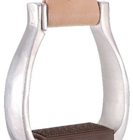 Tough-1 Aluminum Breakaway Stirrups, EZ-Out - Adult