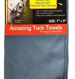 "Equine Comfort Products Amazing Tack Towels Dusty Blue 7""x9"
