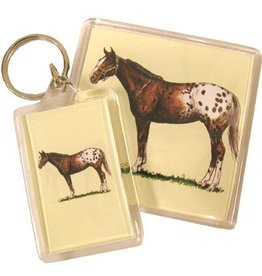 Intrepid Key Chain - Appaloosa