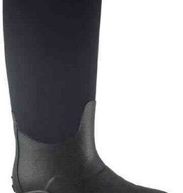 "Smoky Mt Boots Amphibian Rubber Riding Boots w/Lining, 14"", Black - size 7"