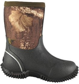 Smoky Mt Boots Youth Camo Amphibian Rubber Boot