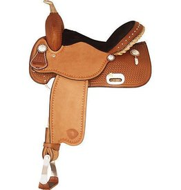 "Tex Tan Tex Tan Speed Racer Saddle, Reg Bar - 15"" - Reg Price $1525 @ $200 OFF!"