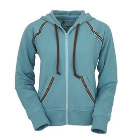Outback Trading Company LTD Outback Maya Dusty Blue Hoodie