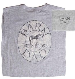Stirrups Clothing Stirrups Barn Dad T-Shirt
