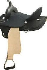 "Abetta Abetta® Timed Event Barrel Saddle, Blk/Natural - 16""/ QH Bars - Reg Price $649.95 @ 20% OFF!"