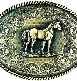 Western Fashion Accessories Standing Horse Belt Buckle