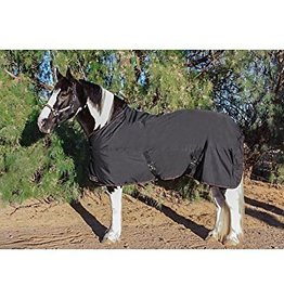 """Kensington Protective Products, Inc. Kensington All Around Draft Mid Weight Turnout Blanket - Black 90"""""""