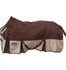 JT International Tough 1 1680D Extreme Turnout Mid-Weight Blanket Brown 78