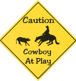 Tough1 Caution Cowboy at Play