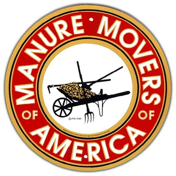 Arrent Enterprises, LLC Manure Movers of America - Metal
