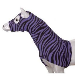 JT International Lycra Mane Saver Purple Zebra Mini