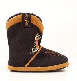 M & F Western Products Children's Cowgirl Slipper