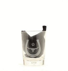 M & F Western Products Tumbler - Steerhead, Small Glasses, 4-pc - 10oz