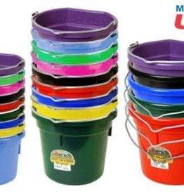 RJ Matthews Plastic Flatback Bucket 8 QT