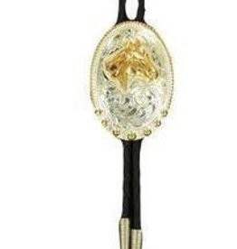 M & F Western Products Bolo Tie - Horsehead, U.S.A. Made