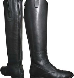 Smoky Mt Boots FINAL SALE - Women's Smoky Black Leather Field Boots (Reg $159.95 - 40% OFF)
