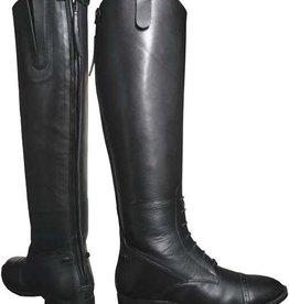 Smoky Mt FINAL SALE - Women's Smoky Black Leather Field Boots (Reg $159.95 - 40% OFF)