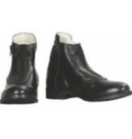 Tuffrider FINAL SALE - Women's TuffRider Sport Paddock Boot Black Zip - 45%OFF