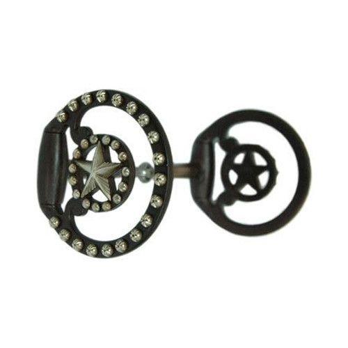 Circle Y of Yoakum Bit - Broken Sweet Iron Snaffle 5