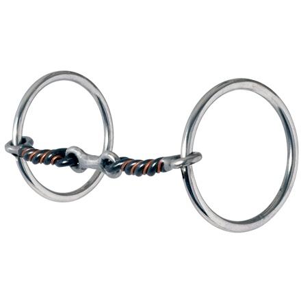 Circle Y Bit - Medium Loose Ring dog bone