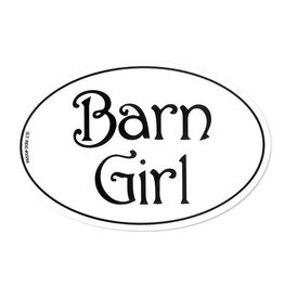 GT Reid Barn Girl Sticker