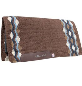 Professional's Choice Professional's Choice Navajo Felt Blanket: Tempe, Chocolate/Royal
