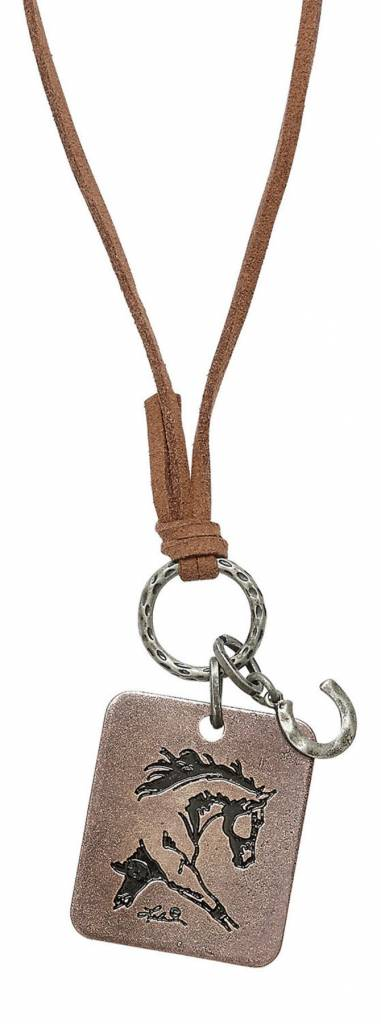 AWST Necklace - Silver Extended Trot