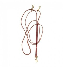 Tough1 Leather Draw Reins leather