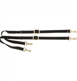 JT International Nylon Side Reins w/Elastic  F/S